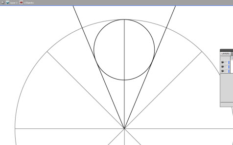 divisng a circle in Illustrator for a stencil project of a rosette