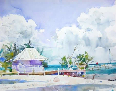 charles reid watercolor