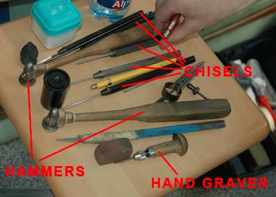 metal engraving hand tools