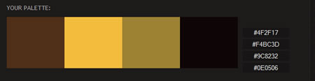 my digital downlaoid version of the mona lisa has this color palette