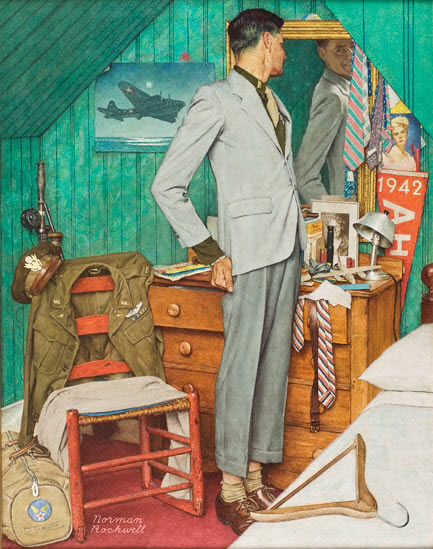 norman rockwell painting