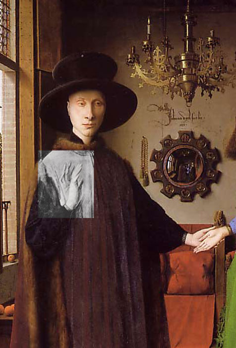 van eyck painting arnolfini marriage 1434