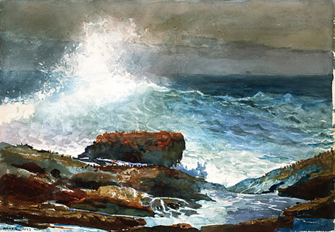winslow homer incoming tide