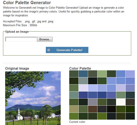 color palette generator generate it