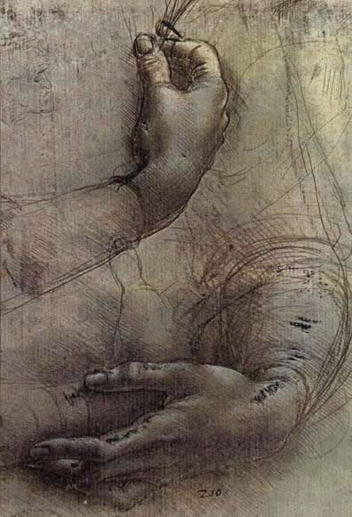 Leonardo da Vinci drawing 1