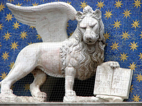 christian symbols the lion of st mark