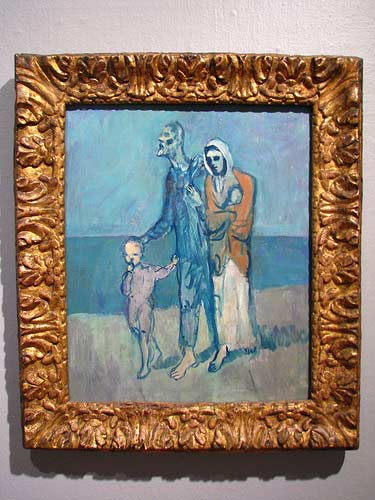 pablo picasso figures by the sea, 1903