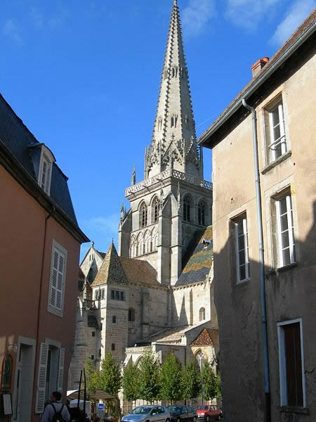 saint lazare cathedral. autun, france
