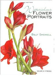 watercolor flowers book