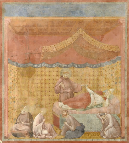 Giotto paintings: Scrovegni 1