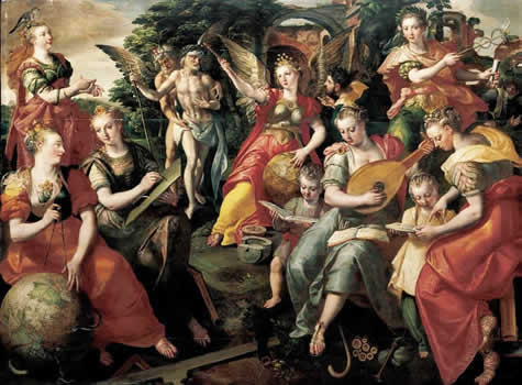 allegory of the seven liberal arts