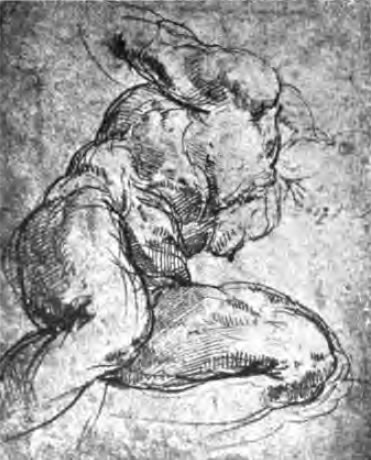 Michelangelo drawing