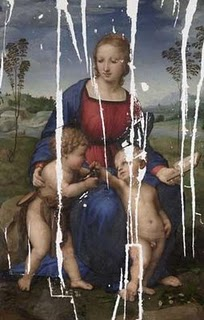 raphael paintin damaged by the earthquake of the 16th century