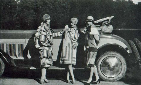 sonia delaunay fashion models