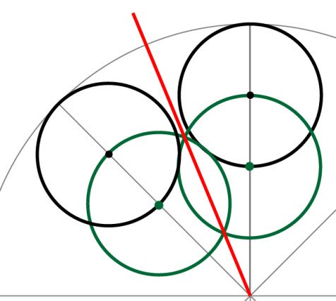 bisector of an angle in Adobe illustrator