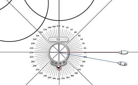 DISECTOR OF AN ANGLE WITH PROTRACTOR