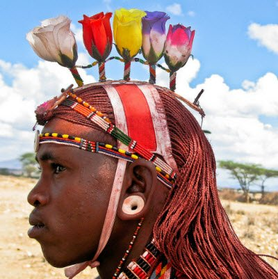 hair color, dye, African culture