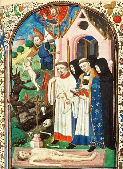 medieval art is a narrative of the gospel messages