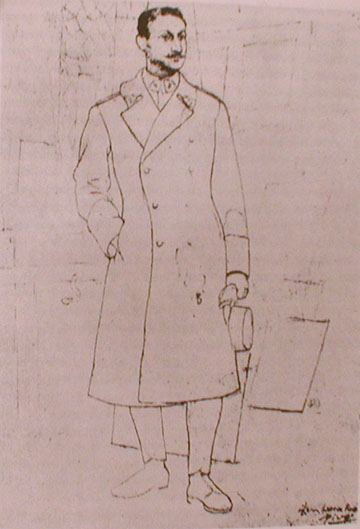 pablo picasso drawing
